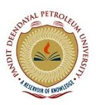 Pandit Deendayal petroleum University - PDPU