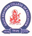 G.B. College of Education - GCE